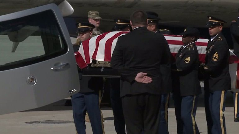 Remains of Cpl. Donald Hendrickson returned to WI