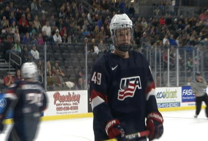 Ty Emberson plays his 22nd game with Team USA U17