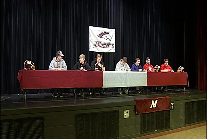 Seven Menomonie players are moving onto the next level