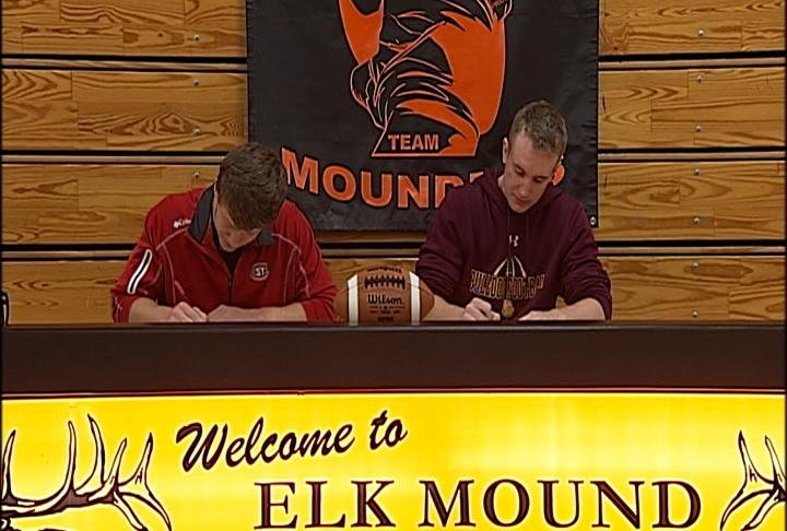 Elk Mound is sending two players to the NSIC