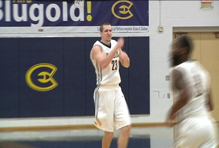 The Blugolds fall to .500 in WIAC against Stevens Point