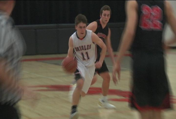 Seth Hause heads to the hoop as Stanley-Boyd beats Altoona