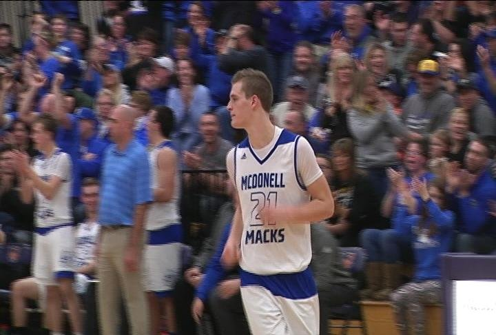 McDonell Central Forward Hayden Baughman (file photo)