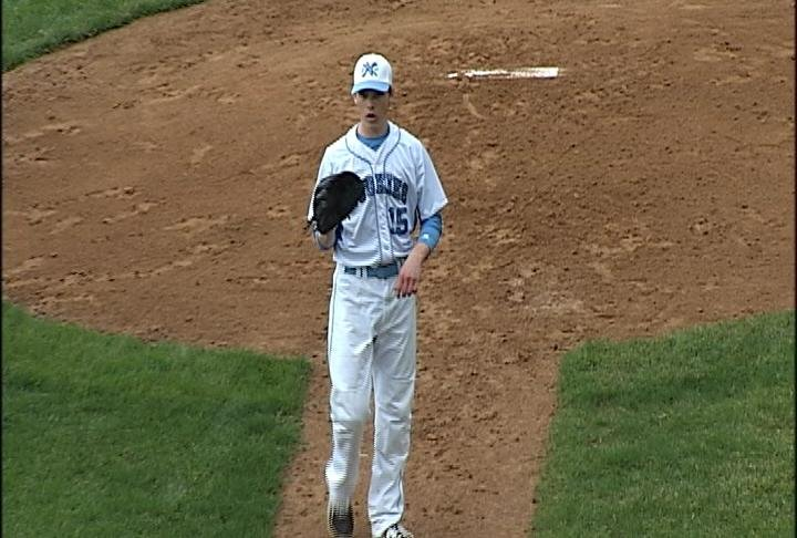 Tanner Halvorson pitches EC North to a BRC win over Hudson