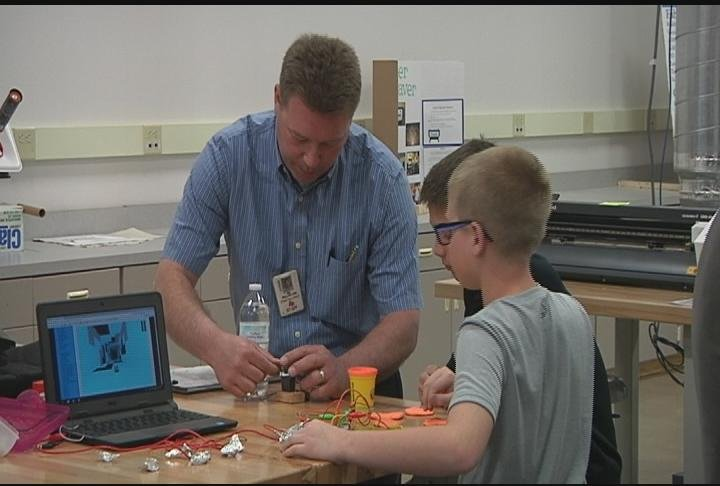 State Officials Bring Grant Money To Northwoods Fab Labs