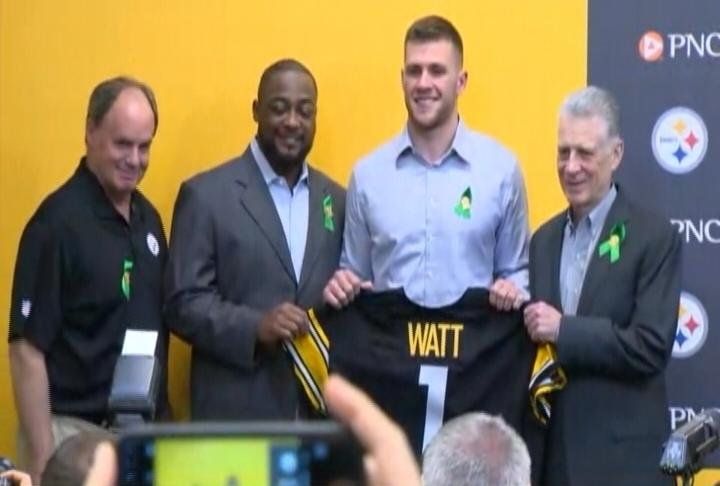 Watt's The Verdict On Steelers' First-Round NFL Draft Pick?