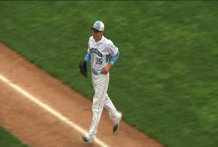 Tanner Halvorson throws a 2-hitter as EC North beats River Falls