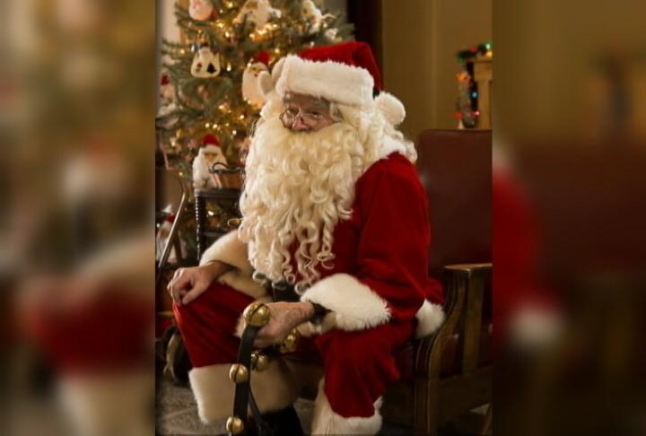 Chuck Card as Santa