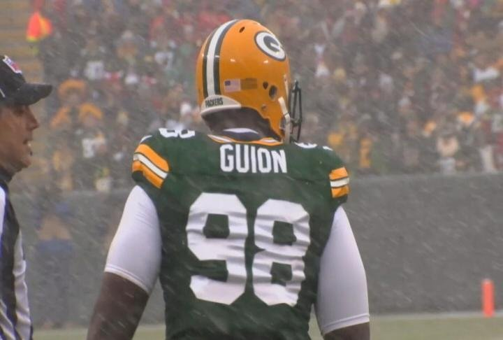 Packers' Guion charged in Hawaii with intoxicated driving