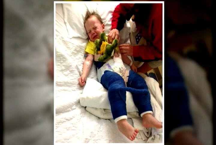 Mom of Injured Toddler Warns Parents About Trampoline Danger