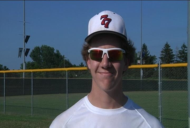 Chippewa Falls pitcher Trevor Olson