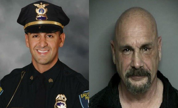 R to L: Sgt. Jesse Henning, Michael Caponigro