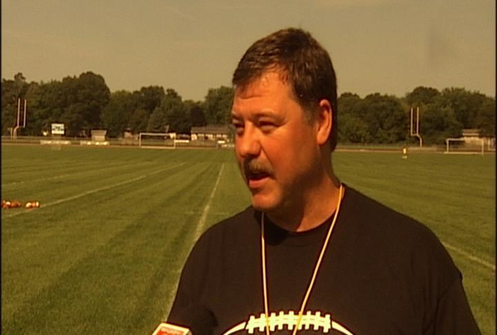 EC North head coach Dave Decker