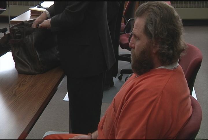 Shane Helmbrecht seen in court in May 2017.
