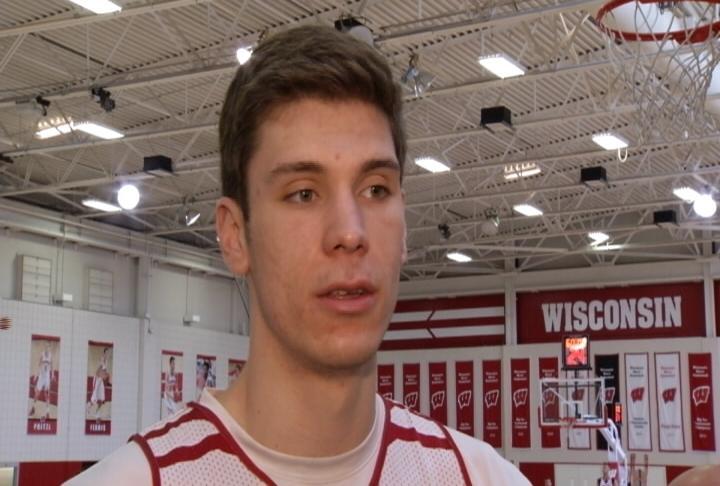Wisconsin Junior Forward Ethan Happ