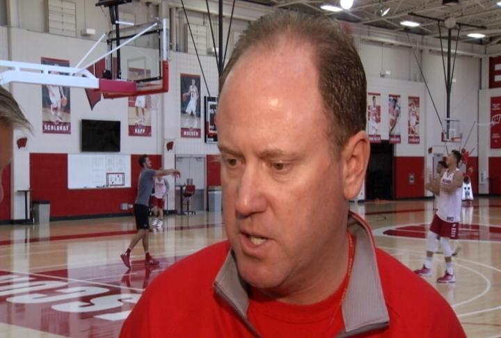 Wisconsin Head Coach Greg Gard