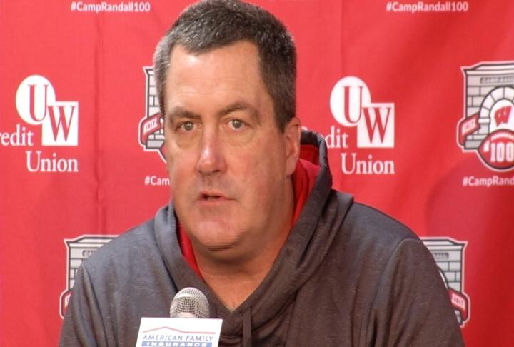 Wisconsin Head Coach Paul Chryst