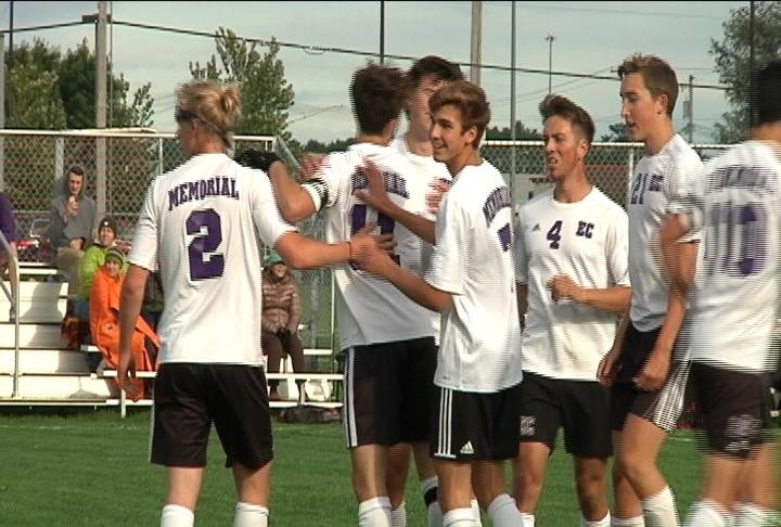 Jack Longville tallies a hat trick as the Old Abes roll