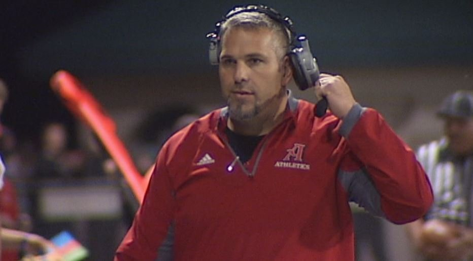 Altoona Football Coach Steve English