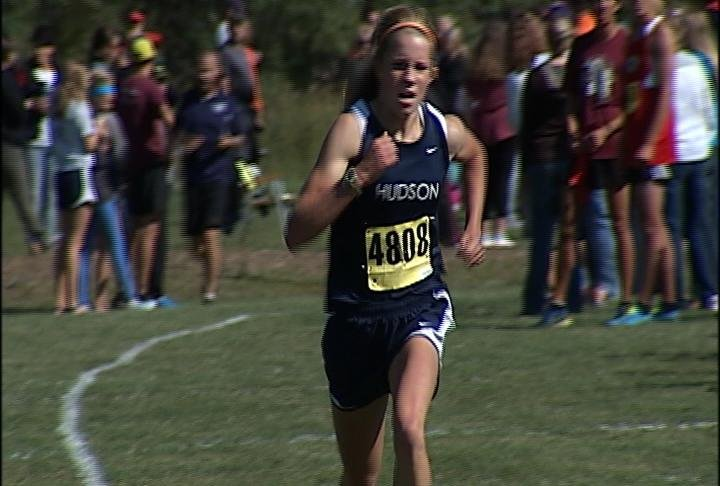 Hudson's Rachel Ball wins by 1.5 minutes