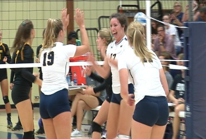 UWEC drops a match to 14th-ranked Gustavus