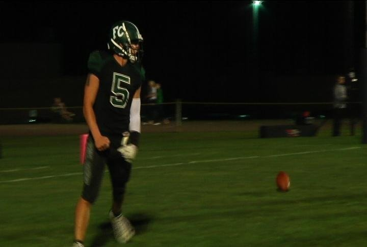 Fall Creek's Ethan Ritger rushes for 6 TD's and a school record 325 yards