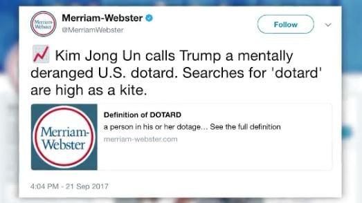 Trump's War Of Words Escalates