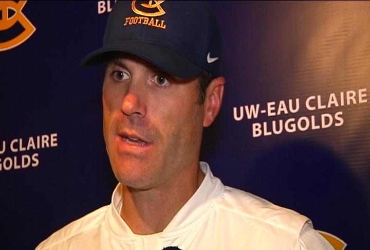 UW-Eau Claire Head Coach Dan Larson