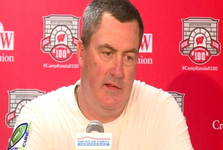 Wisconsin Head Coach Paul Chryst
