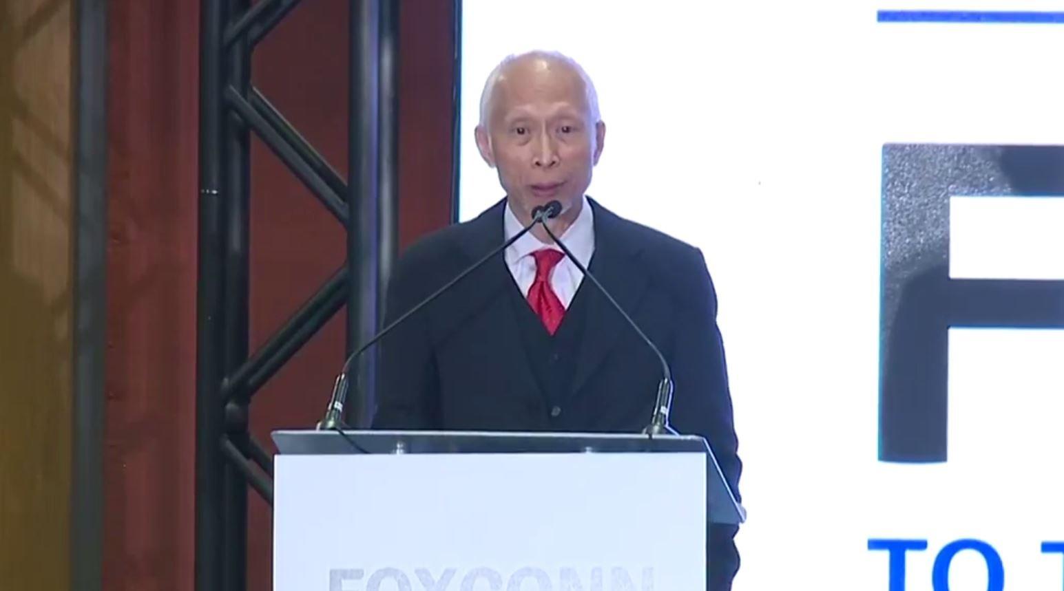 Dr. Louis Woo, Foxconn