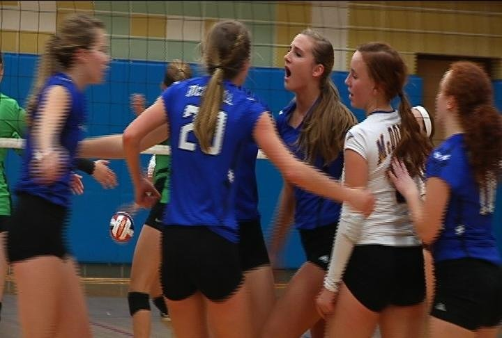 McDonell Central wins the conference with a sweep of EC Regis