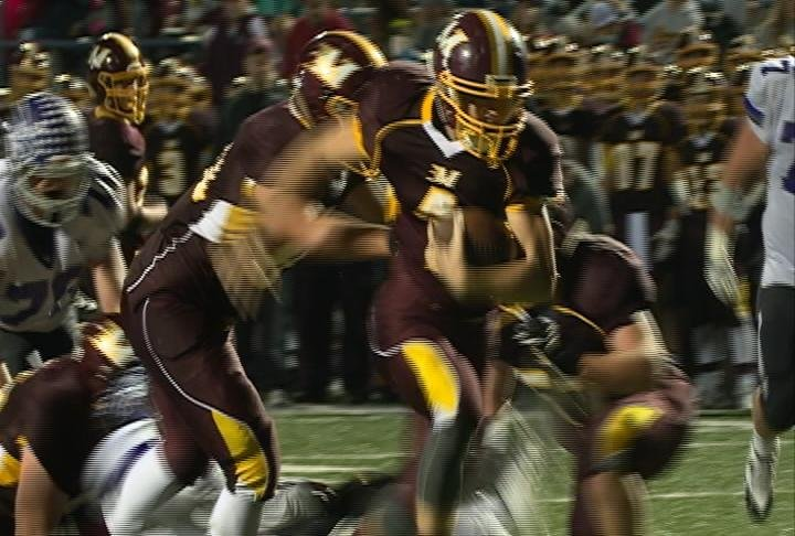 Kade Schultz scores 3 TDs as Menomonie tops EC Memorial