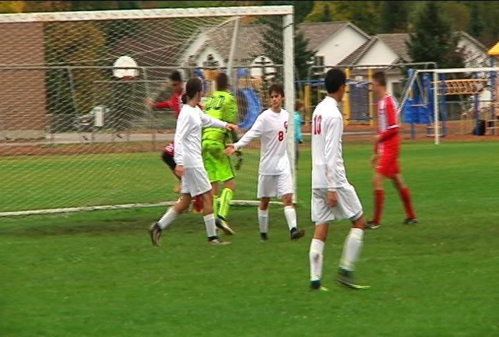 The Cardinals score 3 goals, but come up short to Wausau East