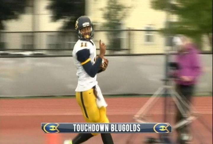 Backup QB Scott Proctor scores 2 rushing TDs but the Blugolds fall