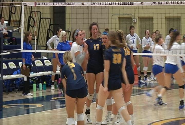 The Blugolds come up short against 15th ranked Millikin