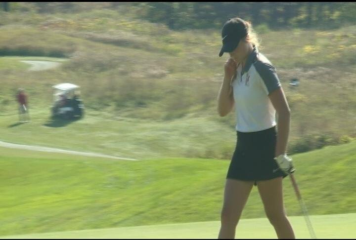 Stanley-Boyd's Savanna Anderson shoots 91 in her first round