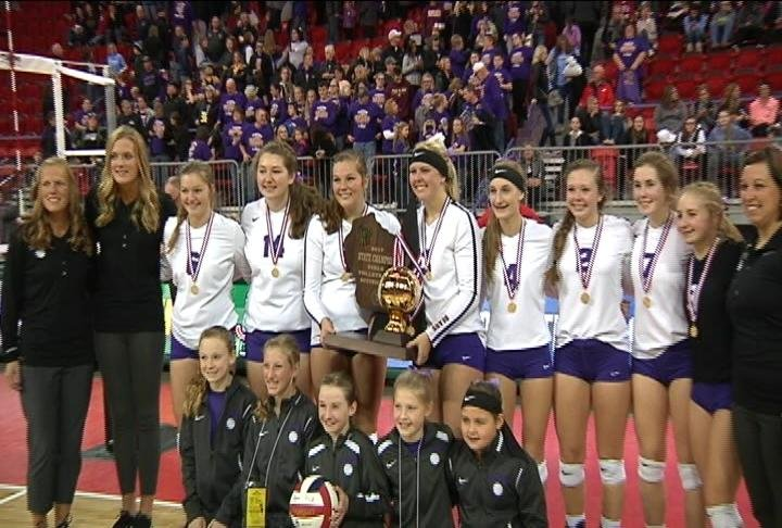 The Bears win their first State Title since 1996