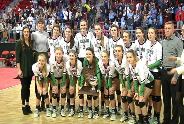 Eau Claire Regis finishes as the Division 3 Runners up