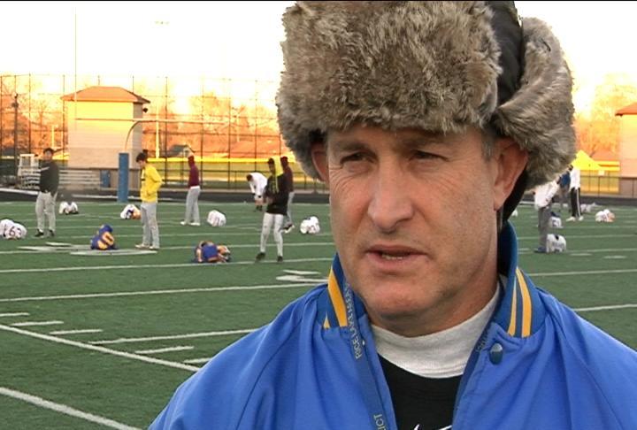 Rice Lake head coach Dan Hill