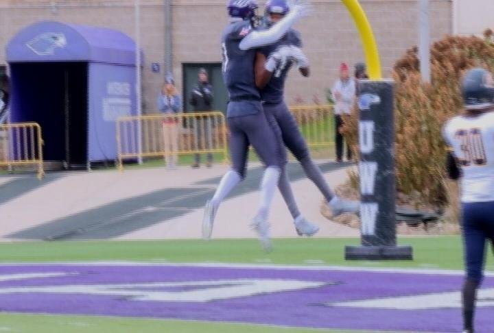 Marcus Hudson scores on a long TD for Whitewater