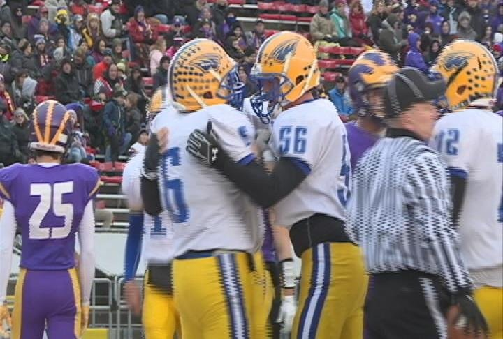 Billy Brown has 2 TD's as Rice Lake takes the Division 3 state title