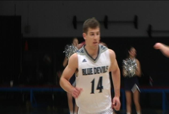 Keegan Dickson has 13 points but UW-Stout loses at home