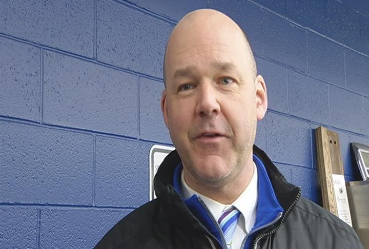 Eau Claire North head coach Tom Bernhardt