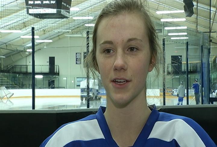 ECA Stars senior forward Abigail Stow