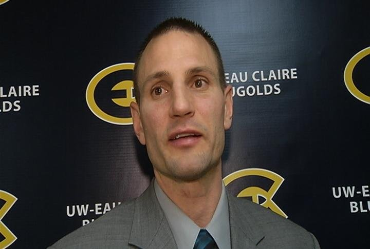 UWEC coach Matt Siverling says his team had plenty of chances to win
