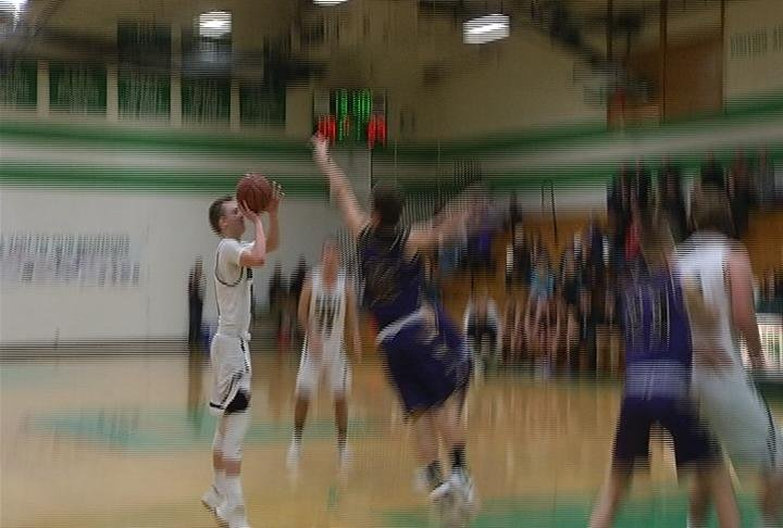 Keelin Norman-Klatt has 28 points to lead EC Regis past Durand