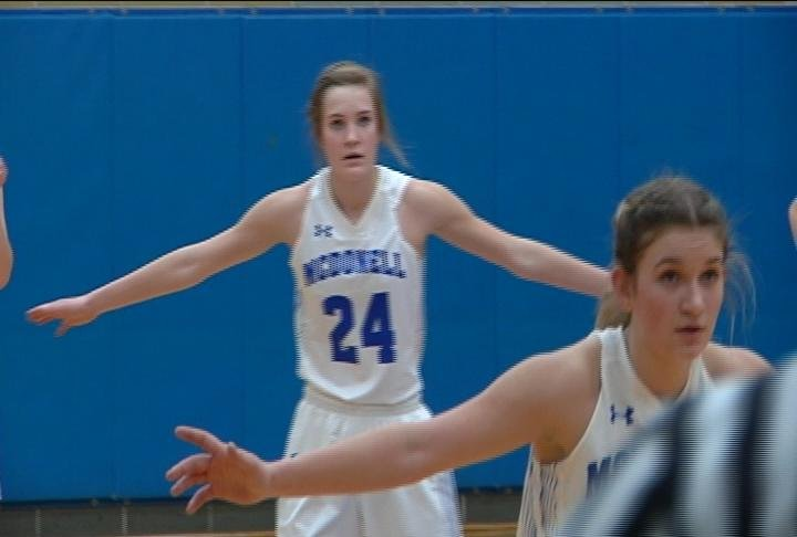 Megan Baier scores a team-high 21 points to lead the Macks over the Orioles