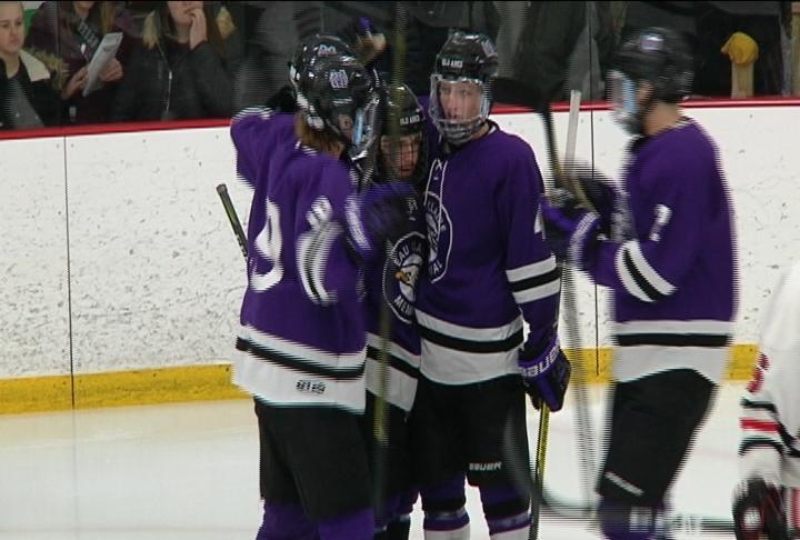 EC Memorial skates to a 5-3 win at Chippewa Falls