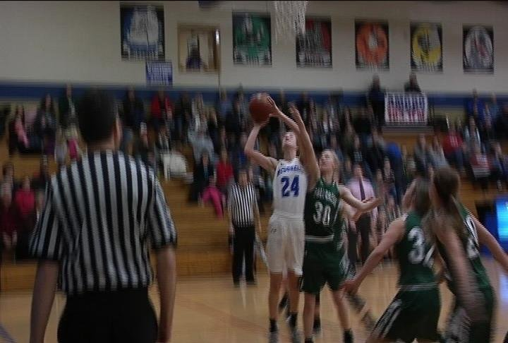 Megan Baier goes up for 2 as McDonell Central rallies to beat Fall Creek