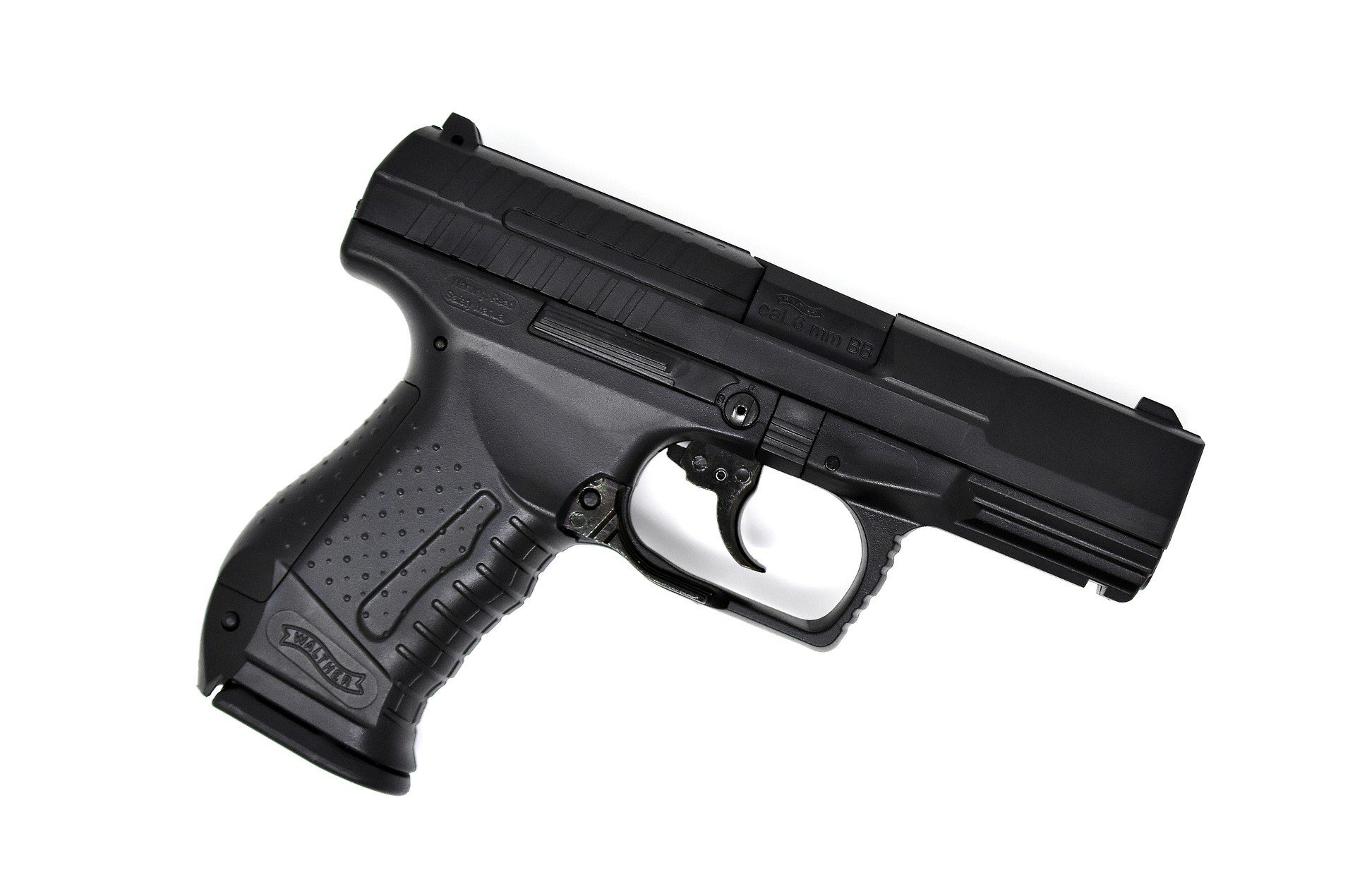 Example of an airsoft pistol